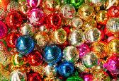 Colorful collection of Christmas Balls — Stock Photo