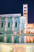 Lucca - view of St Martin's Cathedral. Tuscany, italy. — Stock Photo