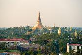 Shwedagon Paya, Yangoon, Myanmar. — Stock Photo