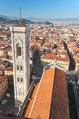 флоренции, дуомо и campanile джотто. — Стоковое фото