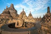 Borobudur Temple, Yogyakarta, Java, Indonesia. — Stockfoto