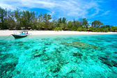 Beautiful sea at Gili Meno, Indonesia. — Stock Photo