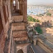 View of Jodhpur, the blue city. - Zdjęcie stockowe