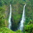 Waterfall in bolaven hill, Laos. - Foto Stock