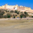 Amber Fort, Jaipur,  India. - Stock Photo
