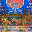 Stock Photo: Inside Buddhist Temple, Kratje, Cambodia