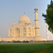 Stock Photo: Taj Mahal at sunrise, Agra, Uttar Pradesh, India.
