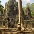 Bayon, Angkor thom, Cambodia. — Stock Photo