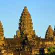 Angkor Wat at sunset, cambodia. — Stock Photo #12420497