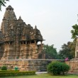 Temple in Khajuraho. - Stock Photo