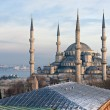 The Blue Mosque, Istanbul, Turkey. - Stock Photo