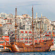 Beautiful old Ships in Istanbul, Turkey. — Stock Photo
