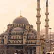 Stock Photo: Yeni Cami (New Mosque), Istanbul, Turkey.