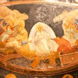 Painting inside Chora museum, Istanbul, Turkey. — Stock Photo #12420882