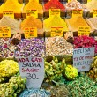 Spice bazaar shops in Istanbul. — Stock Photo #12420931