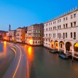 Venice, View from Rialto Bridge. — Foto de Stock