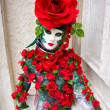 Rose Mask, Carnival. - Foto Stock