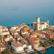 Scaliger Castle in Sirmione by lake Garda, Italy — Stock Photo #12421203