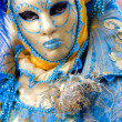White and blue mask, Venice. — Stock Photo #12421259