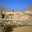 The Sphinx and the Pyramids, Giza, Egypt. — Stock Photo #12421478