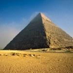 The Chefren Pyramid, Giza, Egypt. — Stock Photo