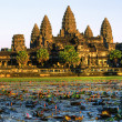 Angkor Wat Temple before sunset, Siem Reap, Cambodia. — Stock Photo #12421499