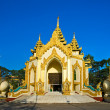 Entrance of The Shwedagon Paya, Yangoon, Myanmar. - Stock Photo
