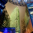 SONY CENTER, POTSDAMER PLATZ, Berlin, Germany. - Stock Photo