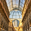 Stock Photo: Vittorio Emanuele gallery in Milan