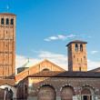 Church of Sant'Ambrogio, Milan, italy. - Stock Photo