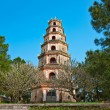 Stock Photo: Thien Mu Pagoda, Hue, Vietnam.