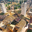 View of san gimignano, Tuscany, Italy. - Stock Photo