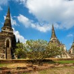 Wat Phra Si Sanphet, Ayutthaya, Thailand, — Stock Photo #12423129