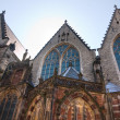 Church in the Red Light district, Amsterdam - Stok fotoğraf