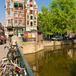 The Amsterdam canal system — Stock Photo #12423223