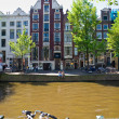 The Amsterdam canal system — Stock Photo #12423242