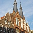 Amsterdam, Church in Jordaan - Stok fotoğraf