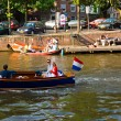 Stock Photo: The Amsterdam canal system
