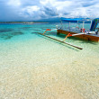 Beautiful sea at Gili Meno, Indonesia. - Zdjęcie stockowe