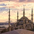 The Blue Mosque, Istanbul, Turkey. — Stock Photo #12423625