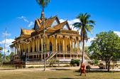 Buddhist Temple around Kratje, Cambodia. — Stock Photo