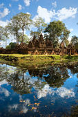 Banteay srei, Angkor, Cambodia. — Stock Photo