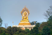 Big Buddha statue in North thailand. — Foto de Stock