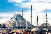 Süleymaniye Mosque , Istanbul, Turkey. — Stock Photo