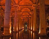 Basilica Cistern, Istanbul, Turkey. — Stock Photo
