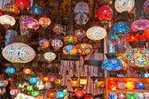 Grand bazaar shops in Istanbul. — Stock Photo