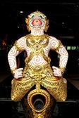 Particular of the Royal Barge, Bangkok, Thailandia. — Stock Photo