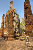 Wat Sa Si, Sukhothai, Thailand, — Stock Photo
