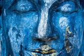 Blue Buddha. — Stock Photo