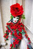 Rose Mask, Carnival. — Stock Photo